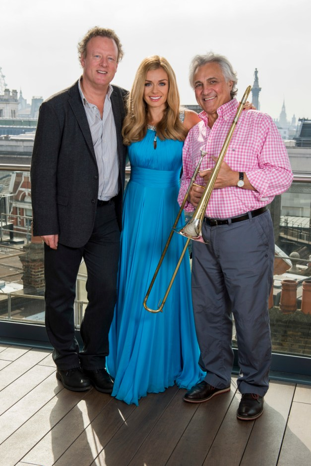 Katherine Jenkins, John Suchet and Howard Goodall