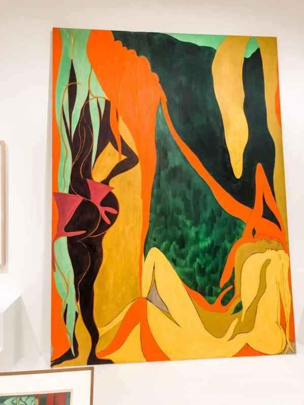 The Shape of Shape Artist's Choice: Amy Sillman at MoMA