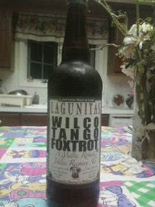 Lagunitas Brewing Wilco Tango Foxtrot
