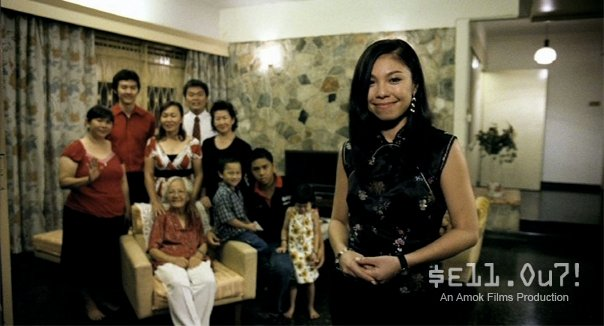The typical nuclear family in Malaysia.