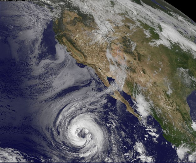eye of the storm photo