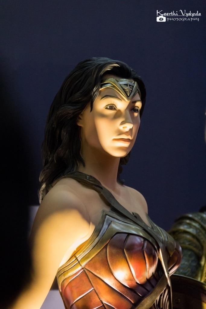 Mannequin of Wonder women