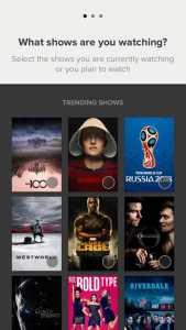 Screenshot for trending shows