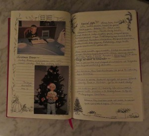 Record Child's Holiday Experiences in a Christmas Memories Book (2/2)