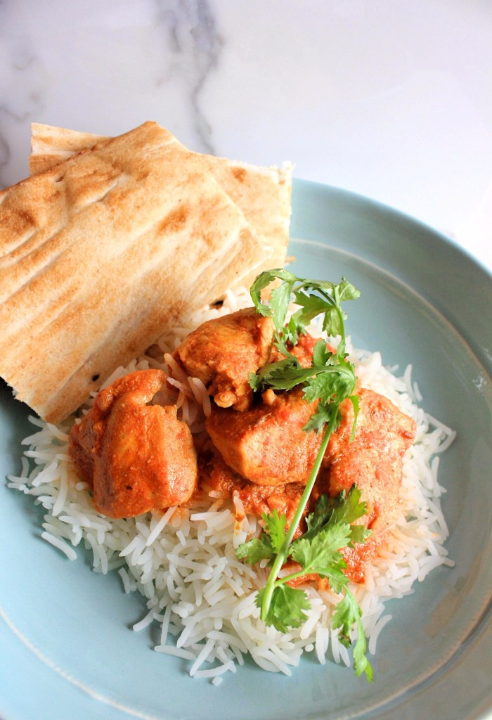 butter chicken recipe with naan