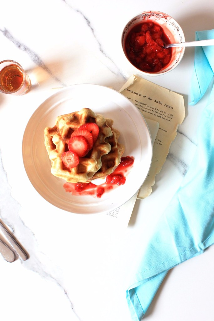 brown butter buttermilk waffles recipe