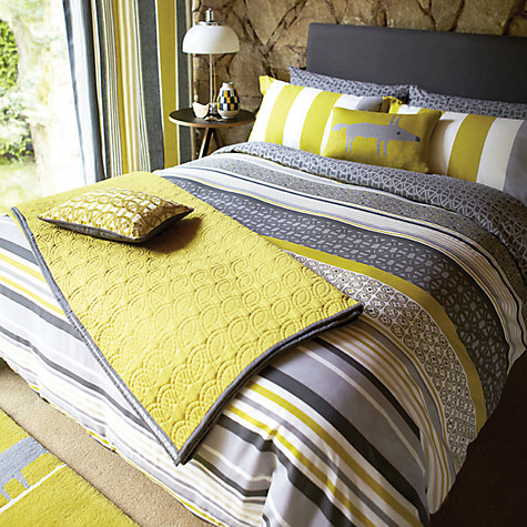 John Lewis Scion Lace Stripe Duvet Covers