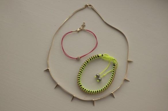 astrid & miyu spike necklace