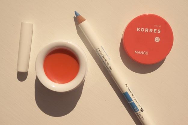 korres eyeliner lip balm