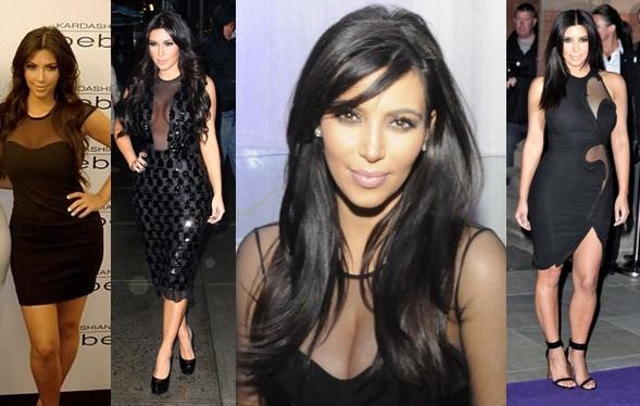 Kim Kardashian Mesh Dress – Get the Look