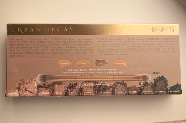 urban decay naked 3 box back