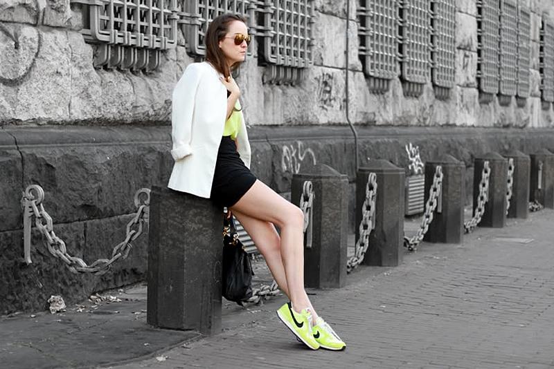 fashion blogger nike trainers