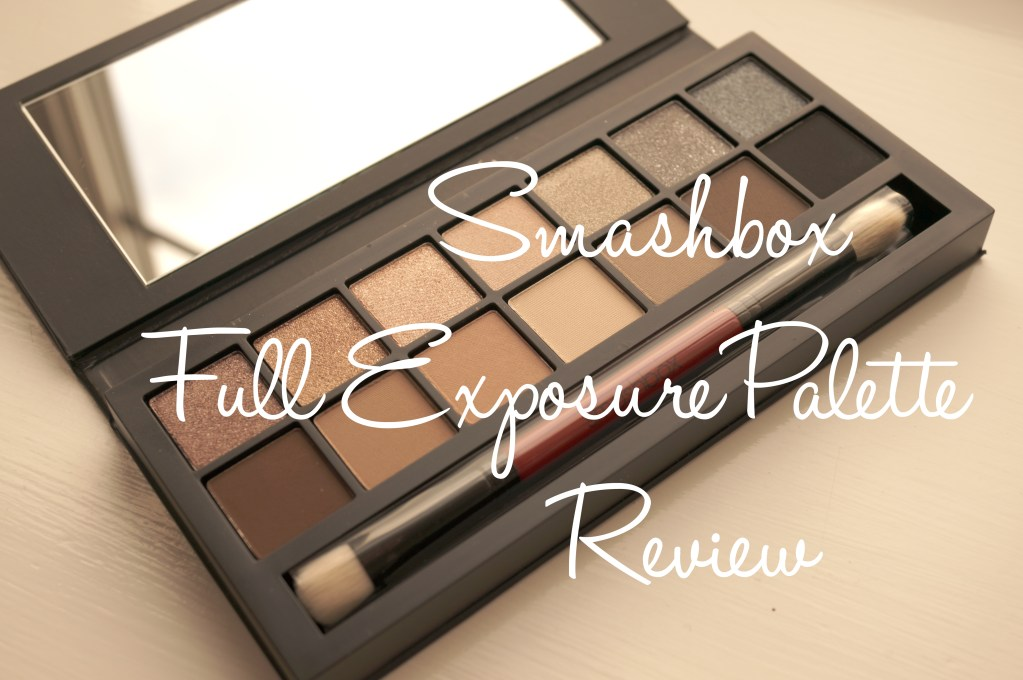 Smashbox Full Exposure Palette Review & Swatches