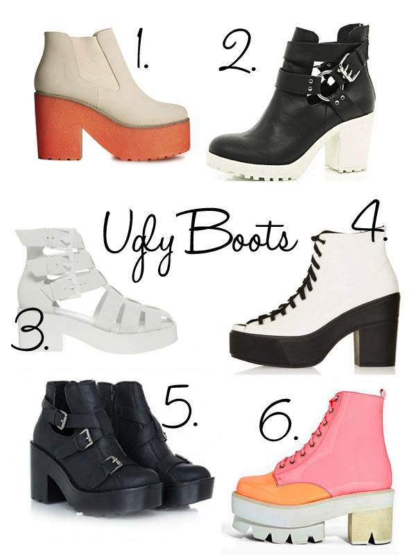 Ugly Boots! Yay or Nay??