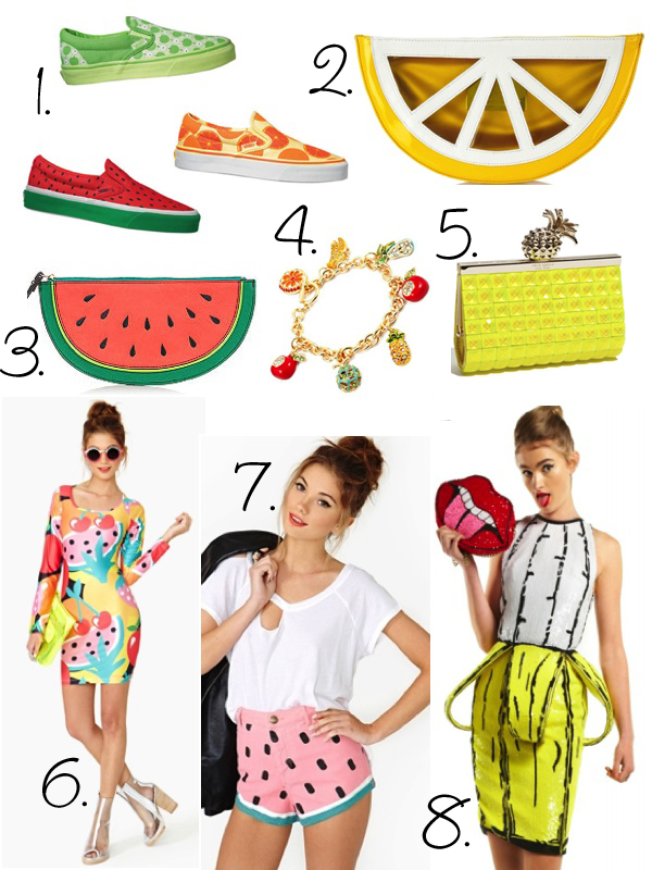 Fruity Fashion!