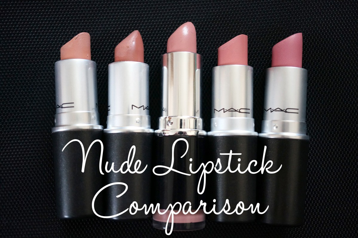 MAC Nude Lipstick Comparisons and Swatches