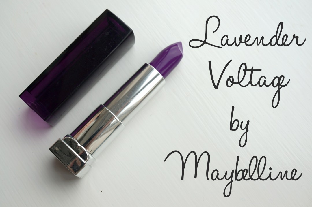 maybelline lavender voltage