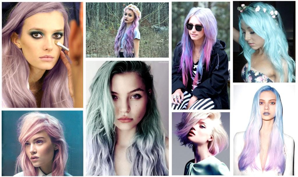 Spring Pastel Hair Inspiration