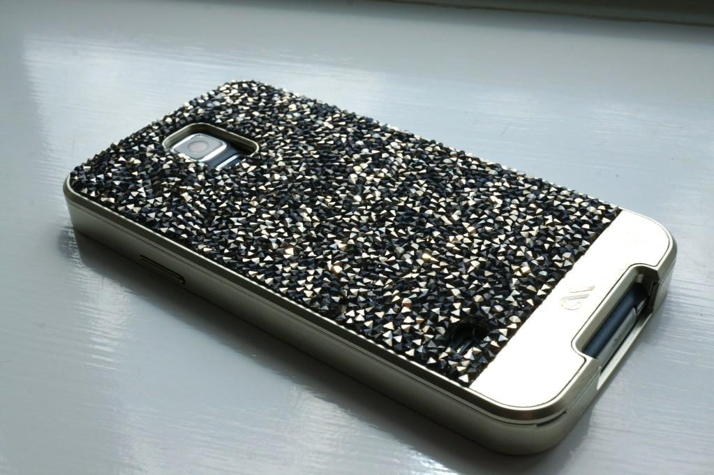 Samsung S5 & Case-Mate Brilliance Champagne Case!