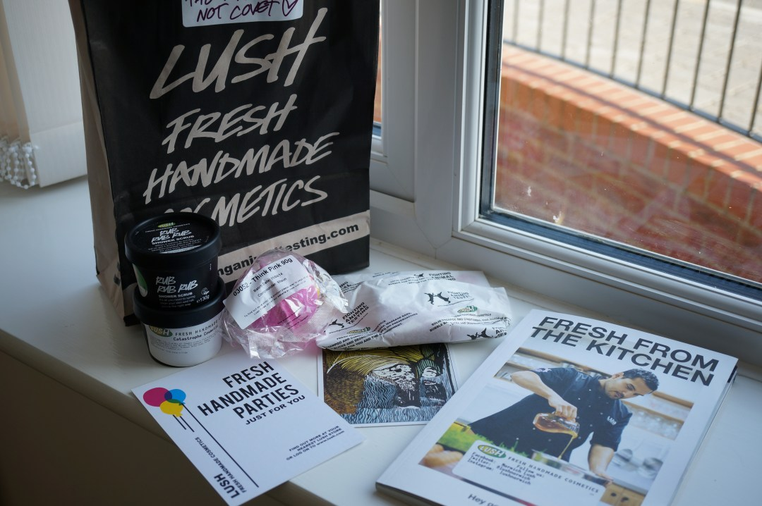lush goodie bag