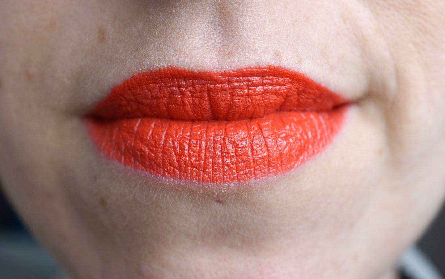 mac morange orange lipstick