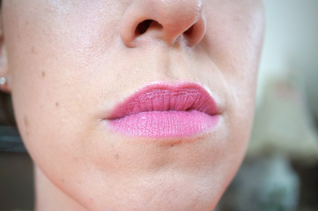 mac pinkfringe lipstick review