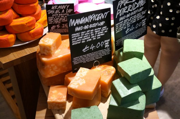 magnificent hand and body soap