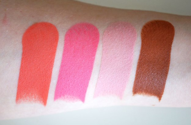 makeup-revolution-blush-sticks-matte-swatches