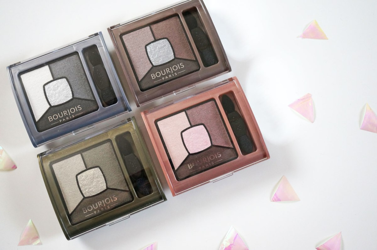 Bourjois Quad Smoky Stories Eyeshadow Palettes!