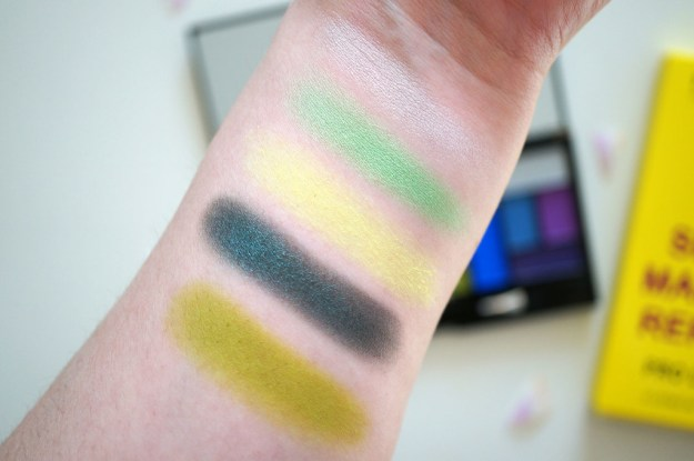 makeup-revolution-green-eyeshadows-review