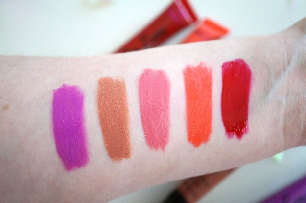 nakeup-revolution-lip-lava-swatches