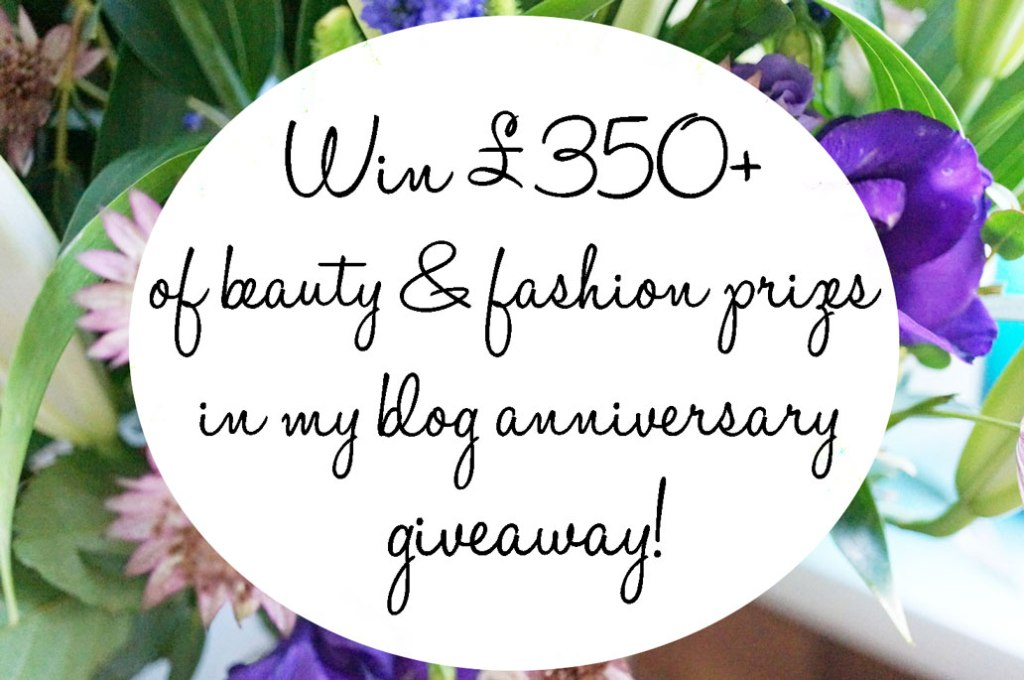 It's My Blog's 2nd Birthday! Plus a £350 Giveaway!