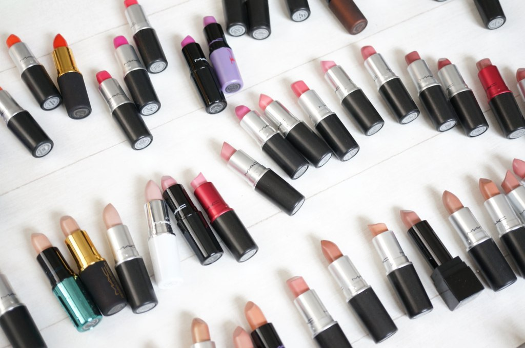 My MAC Lipstick Collection & A Guide to MAC Lipstick Finishes