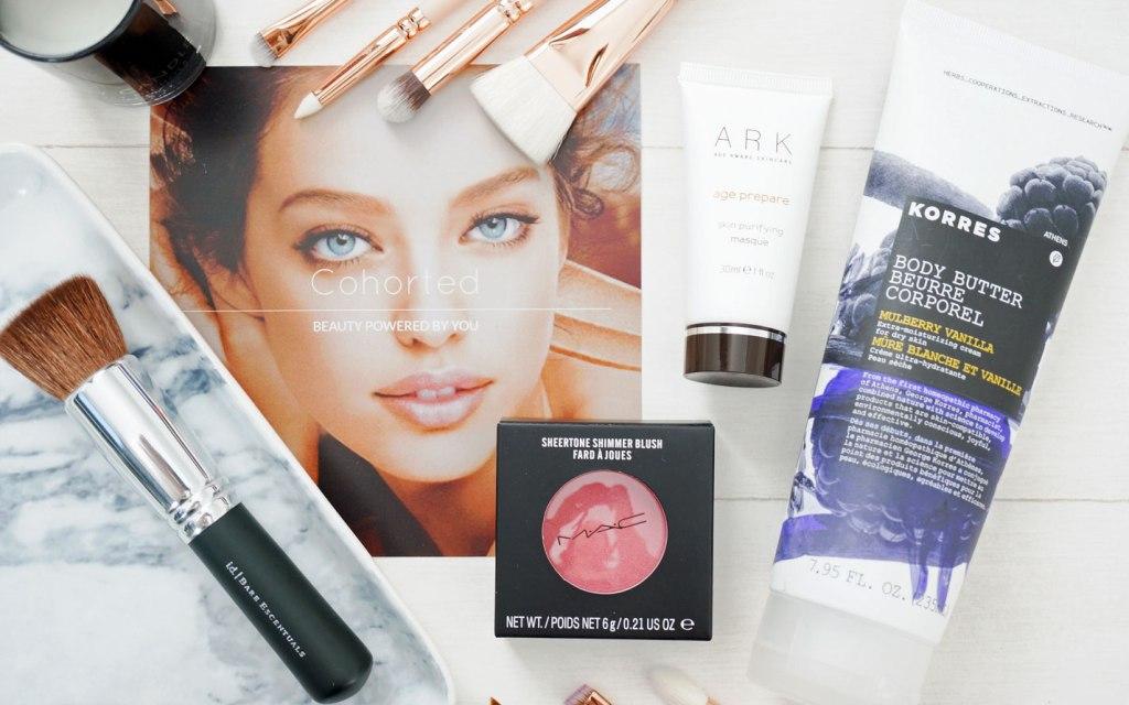 Cohorted April Beauty Box   Review