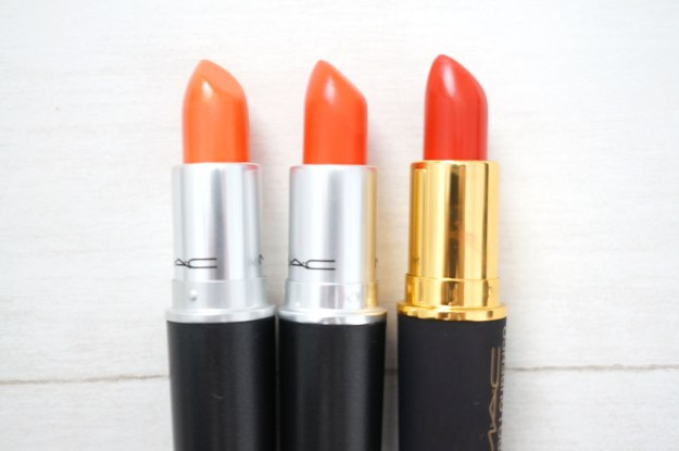 mac-lipsticks-oranges