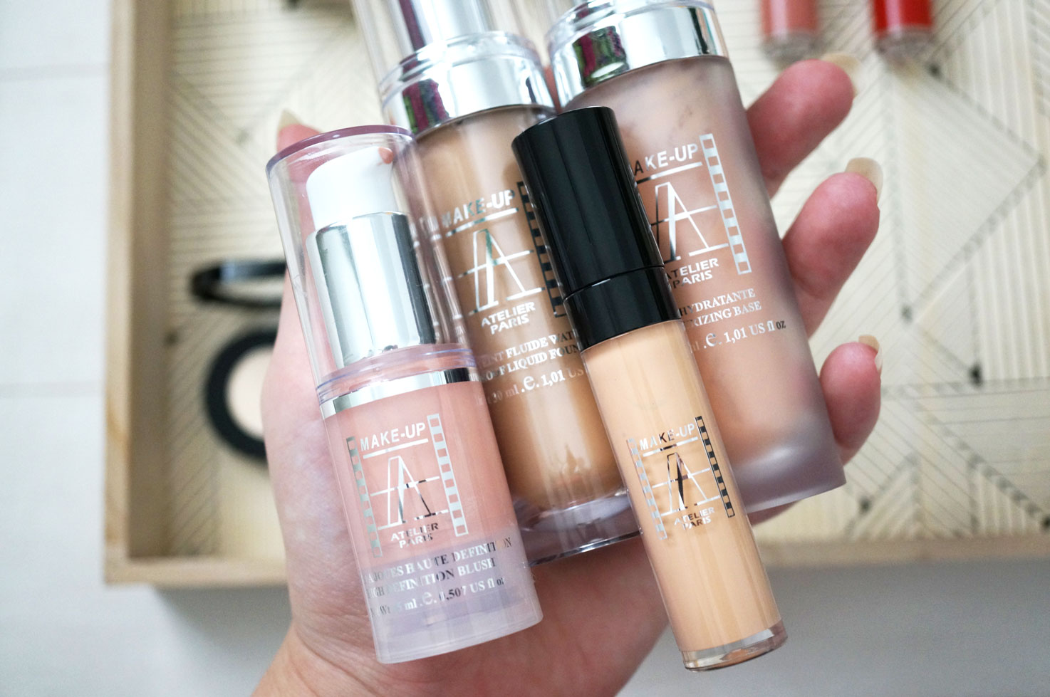 Makeup atelier waterproof foundation review
