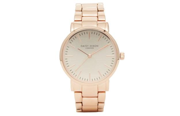 Daisy Dixon Rose Gold Kate Watch