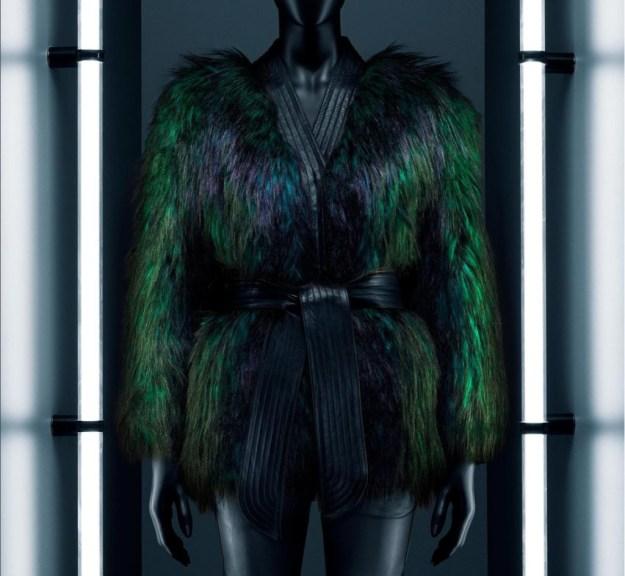 hm-balmain-green-fur-jacket