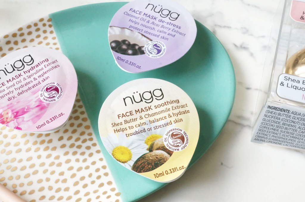 New Nugg Beauty Face & Lip Masks