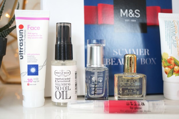 M&S-Summer-Beauty-Box-products