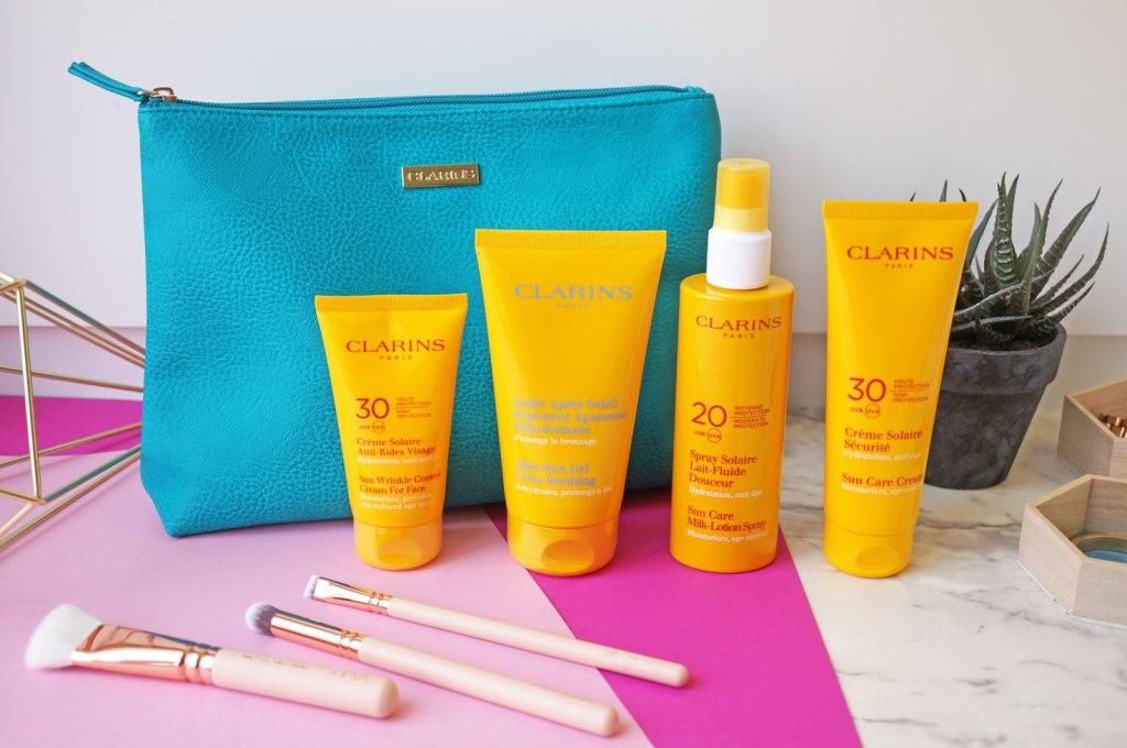 My Clarins Sun Care Prescription for Sensitive Skin