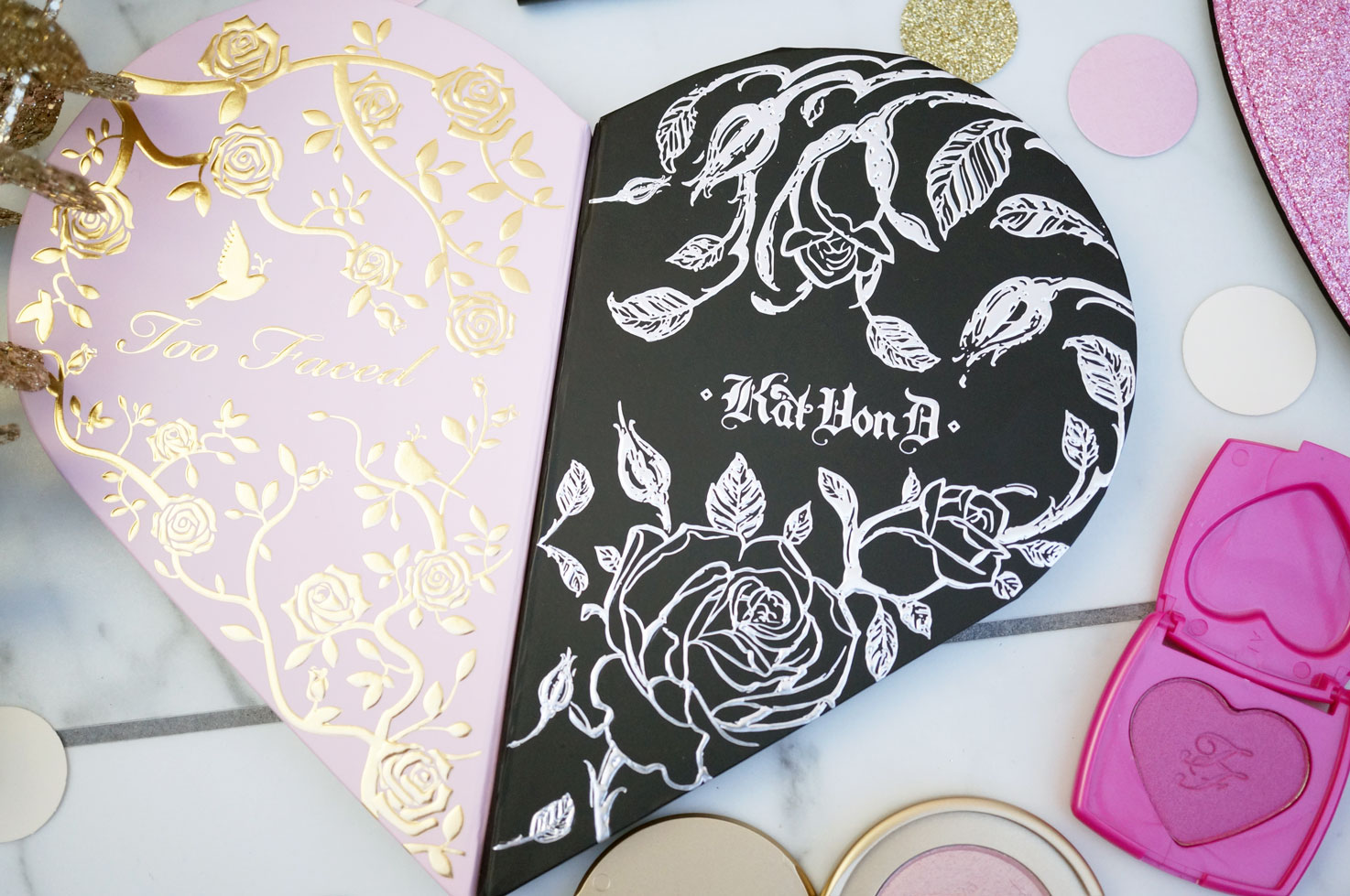 Beauty Too Faced X Kat Von D Better Together Collection