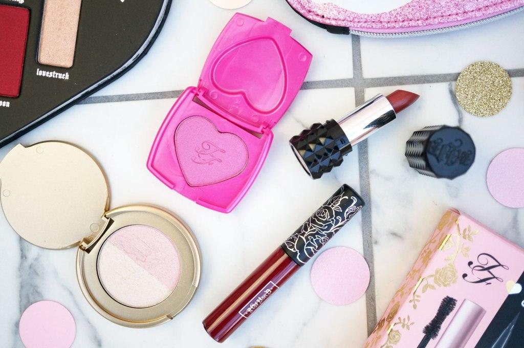 too-faced-kat-von-d-makeup-bag-products