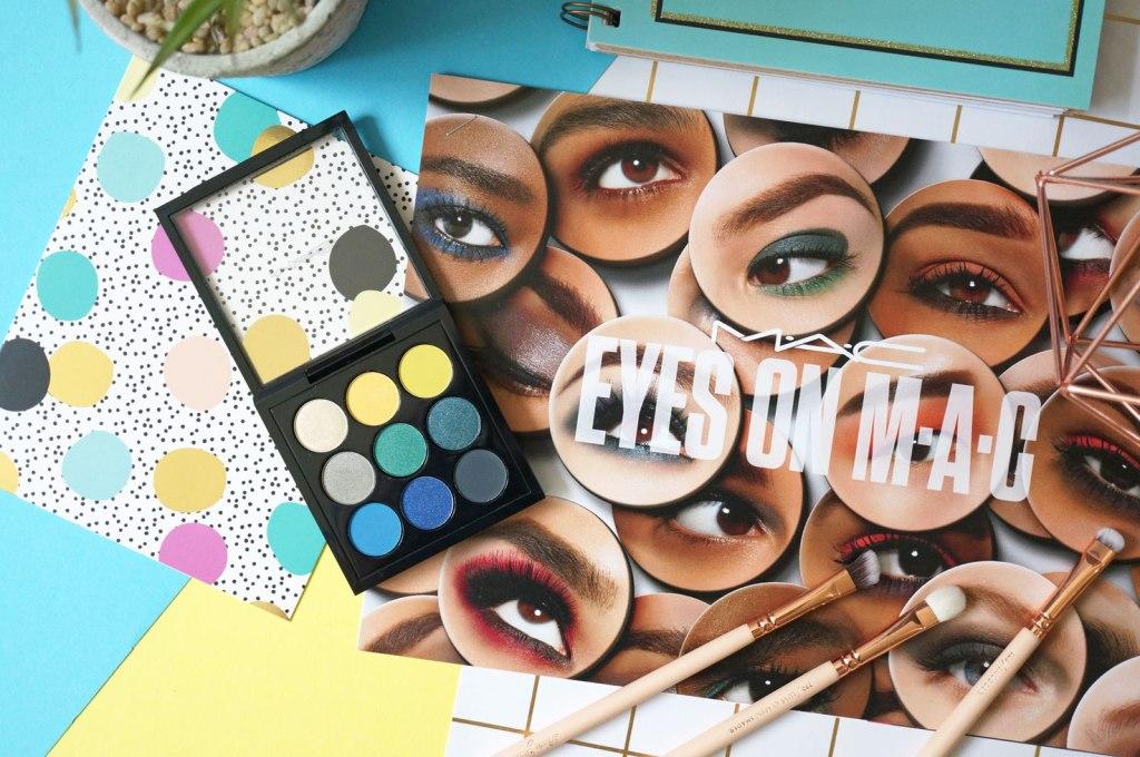 Beauty: Eyes on MAC Tropical Cool Times Nine Eyeshadow Palette