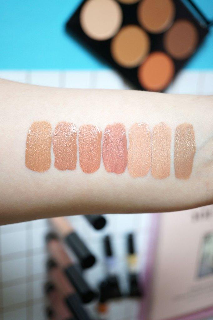 nip-and-fab-liquid-lipstick-swatches