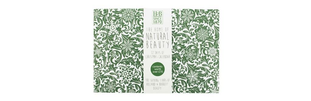 holland and barratt natural beauty advent calendar 2017 tsncblog