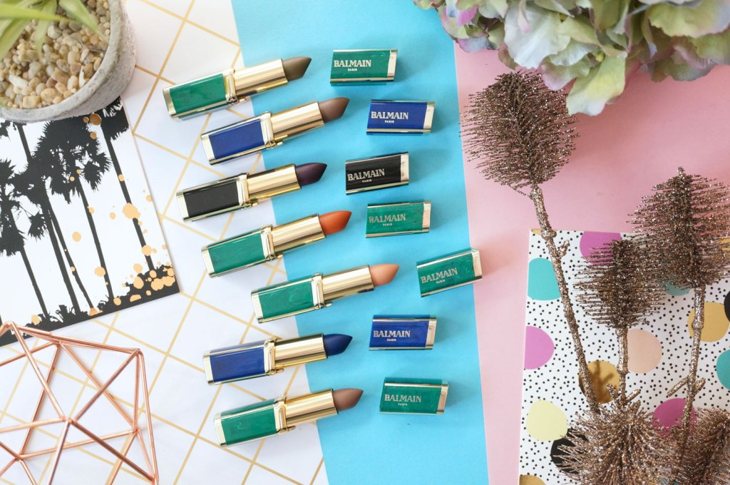 loreal-balmain-lipstick-collection
