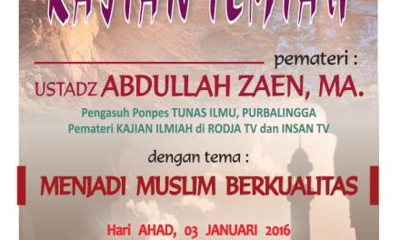 Tabligh Akbar Ustadz Abdullah Zaen, MA, Lc.