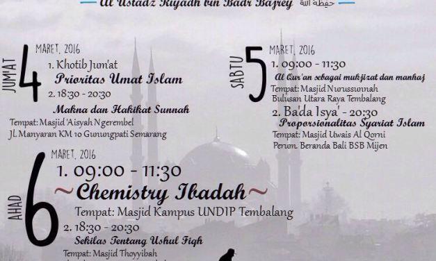 Tabligh Akbar bersama Al Ustadz Riyadh bin Badr Bajrey
