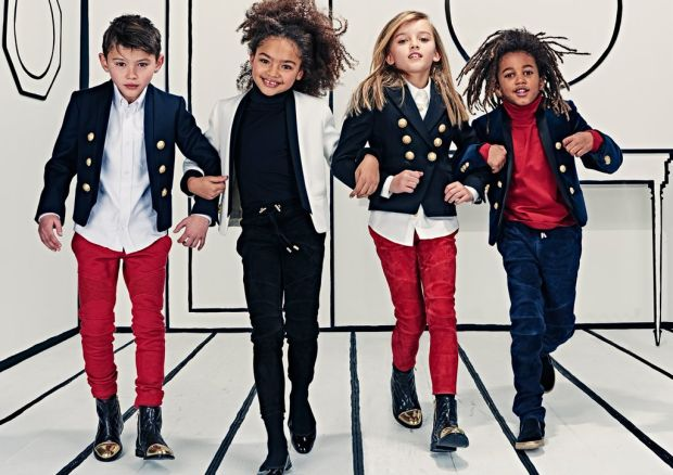As he preps for cannes, the fashion designer explains the inspiration behind netflix's 'wonder boy,' which follows his attempts to find his. Olivier Rousteing Intro Balmain Kids - THPFashion Blog